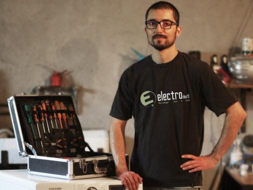 David Anav : Recyclage, réparation et vente d'appareils électroménagers.